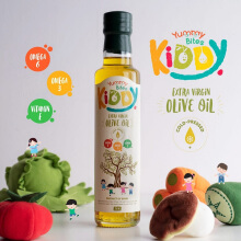 YUMMY BITES Kiddy Extra Virgin Olive Oil Botol - 250ml