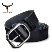 COWATHER top cow genuine leather belts