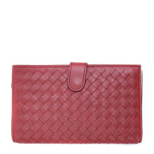 Bottega Veneta Women'sChina Red Leather Wallet 132357VBFW16329
