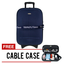 Traveltime 5441 - Koper 20in + cable case 813