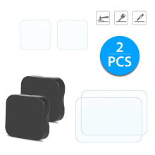 [kingstore]Ultra Clear Tempered Glass Screen Lens Protective Film For GoPro Hero 6 5 Transparent Transparent
