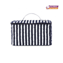 Naraya Stripes Printed Cosmetic Bag XL NB-37A/XL CP37