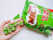 Milo Nestle Energy Cube isi 100 PCS