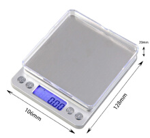 Jantens 0.1g 0.01g Portable Mini Electronic Digital Scales