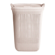 Olymplast Laundry Basket Cream White