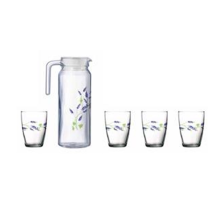 LUMINARC Drinkset Roterdam - S5P Boisson Seine Blue Set of 5