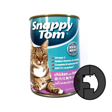 SNAPPY TOM 400 gr cat chicken with tuna flakes