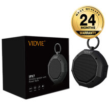 VIDVIE Wireless Speaker SP901 / Bluetooth / Portable Speaker - Grey Dark Grey