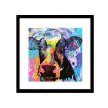 [COZIME] Multicolored Black Cow DIY 5D Full Drill Diamond Cross Stitch 30*40cm D221 multicolor