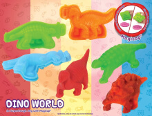 EMCO Super Dough Creativity Set Dino World 6127