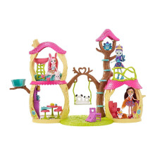 ENCHANTIMALS Playhouse Panda Set FCG94