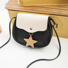 Keness new ladies fashion one shoulder women bag diagonal cross bag stars hanging mobile phone bag