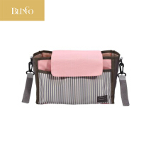 BLINGO Diaper bag baby mummy storage bag baby supplies collection baby car accessories baby care Pink