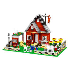 Wange Bricks 33201 Farm Series Brown