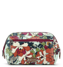 Sakroots Carryall Cosmetic Bag Seafoam Flower Power Multicolor