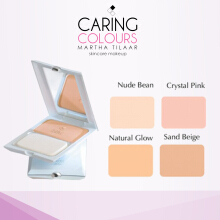CARING COLOURS UV WHITE DUO FUNCTION CAKE 01 NUDE BEAN