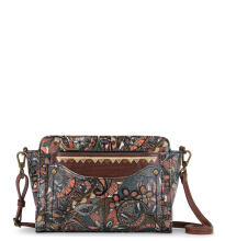 Sakroots Small Charging Crossbody Sienna Spirit Desert