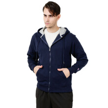 CHAMPION Powerblend Fleece Full Zip Jacket - Navy