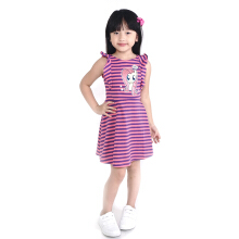 KIDS ICON Dress Anak Perempuan MY LITTLE PONY Fluttershy  Stripes Printing with Frill detail - PY500400180