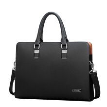 Jantens  Padieoe Luxury Brand Genuine Leather Men Laptop Bag Briefcase Fashion Men's Business Bags