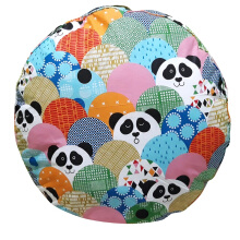 SLEEP MAX Floor Cushion - Panda    / 65 x 65 cm