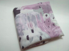 Mydwira - Abstract Square Scarf - Plum