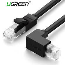 UGREEN Cat6 Ethernet Patch Cable Straight to Right Angle Multiple Shielded RJ45 Network Cord