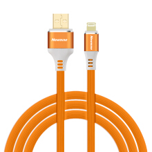 Newmine Apple tooth profile data cable USB mobile 3A is suitable for Apple mobile phone 1m