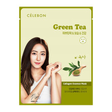 CELEBON GREEN TEA Collagen Essence Mask