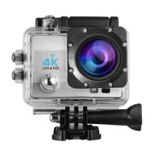 [kingstore] Action Camera Remote Ultra HD 4K WiFi 1080P/60fps 2.0 LCD DV Sport Q3H Silver