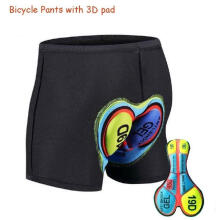 Farfi Outdoor Cycling Bicycle MTB Bike Breathable Shockproof Pants Shorts Underwear