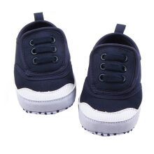 Saneoo Velcro Prewalker Baby Shoes Navy 6-12 Months