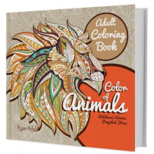 ADULT COLORING BOOK : COLOR OF ANIMALS - Ranggi Ariliah