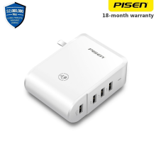 Pisen USB Wall Charger 4 Port 2A USB Charging Socket for smartphone tablet computer android samsung HTC xiaomi oppo apple iPhone