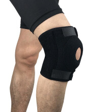 SBART 2pcs Adjustable Knee Support Brace Kneepad Patella Knee Pads Sports Safety Guard Strap Running One Size