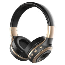 [COZIME] B19 Wireless Stereo Bluetooth Headsets Headphone LCD Display With Mic FM Radio Others