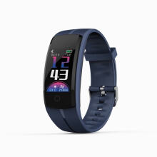 SANDA 2018 New QS100 Color LCD  Sport waterproof Smart Bracelet for Samsung xiaomi huawei iPhone