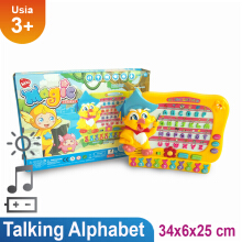 Ocean Toy Talking Alphabet Mainan Edukasi Anak 1347E Multicolor