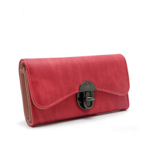 Jantens  Vintage Fashion Women Wallet 2018 Casual PU Leather Long Wallet Clutch Purse