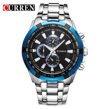 CURREN 8023 Business Men Watch Top Brand luxury Full Steel Quartz Wristwatches