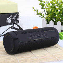 Portable Wireless Bluetooth Stereo Music Waterproof Speaker For Iphone Samsung Black
