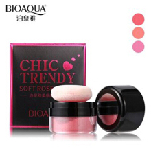 Bioaqua Chic Trendy Soft Rose Blush On Powder - Perona Pipi - 4gr