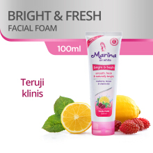MARINA Facial Foam UV White Bright & Fresh 100ml