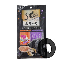 Sheba Melty 4 X 12 Gr Cat Tuna And Seafood Flavors