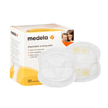 Medela 30 / 60 Tablets Mother Disposable Nursing Pads Emulsion Adhesive Light Breathable Flexiable Super Dry
