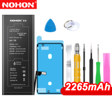 NOHONO Battery For iPhone 7 7G Replacement Batteries 2265mAh Capacity Lithium Black