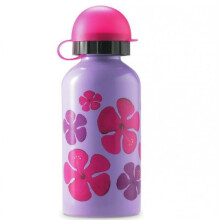 [free ongkir]Crocodile Creek Stainless Steel Bottle Hibiscus - 400 ml