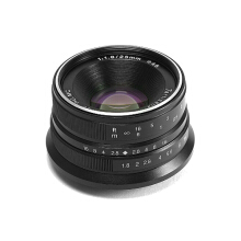 7artisans 25mm / f1.8 Lens for Olympus/Panasonic Black​ Black