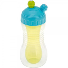 [free ongkir]Brother Max 2 in 1 Drinks Cooler Sports Bottle - Blue Green