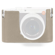 Leica Protector for Q Typ 116 Half Case Cemento Leather (19519)